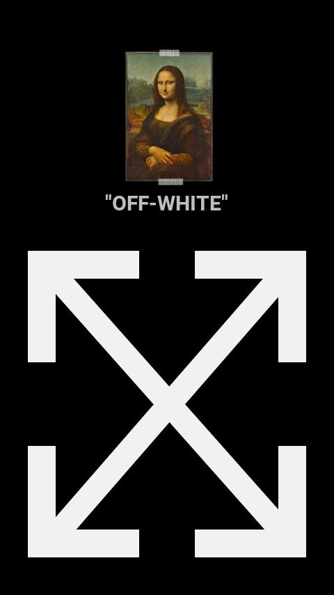 Wallpaper Off White Mona Lisa En 2019 Fondos Para Iphone