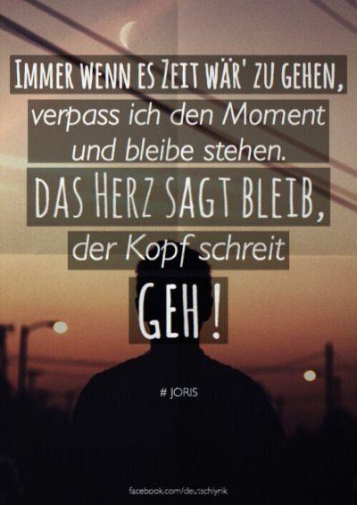 deutschlyrik: Joris - Herz u00fcber Kopf: