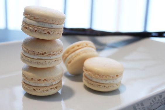 Surprises et gourmandises - Macarons à la vanille