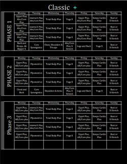 Download P90X Worksheets and Calendar. | Fitness | Pinterest ...