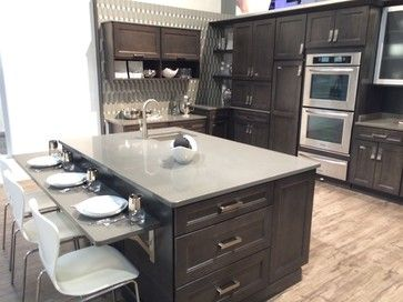 Diamond Cabinets shown at the KBIS in Vegas 2014. This shows the ...