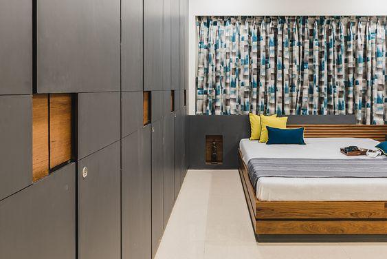 Advaitam Pavan Infratech Living Room Decor Apartment Modern Apartment Bedroom Design