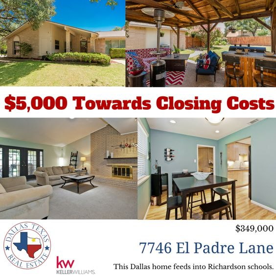 Don't miss the opportunity to purchase this awesome mid-century modern home!  $349,000.  Dallas address feeds Richardson schools.