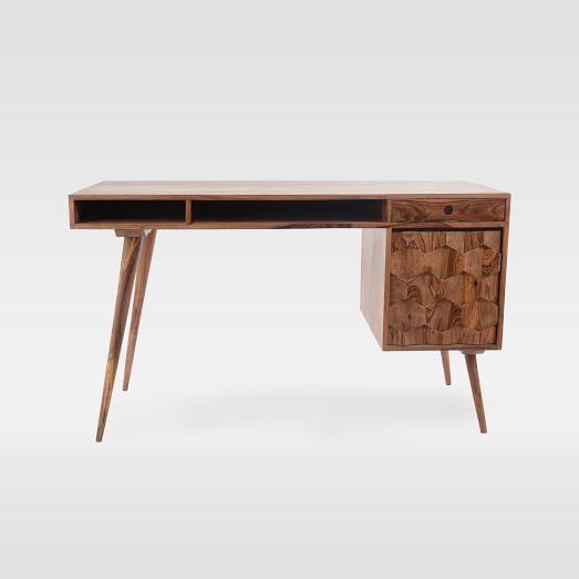 Modern Geo Wood Writing Desk Wood Writing Desk Writing Desk Modern Desk