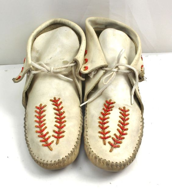 handmade moccasins for sale guilmox guilfair american indian leather white 547