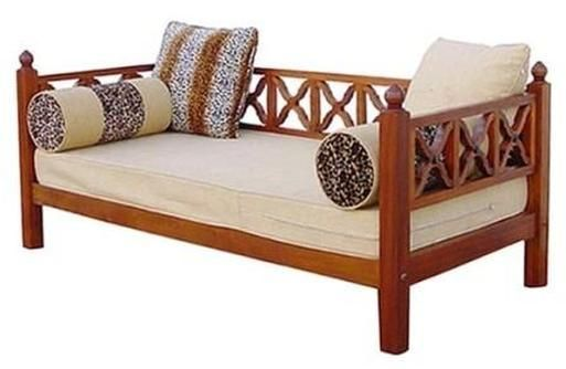 Swahili Daybed In 2021 Living Room Sofa Design Furniture Design Living Room Wooden Sofa Designs