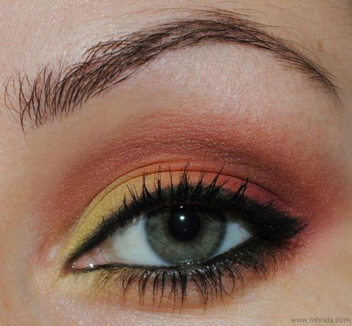 .I got this! I should be a makeup artist!