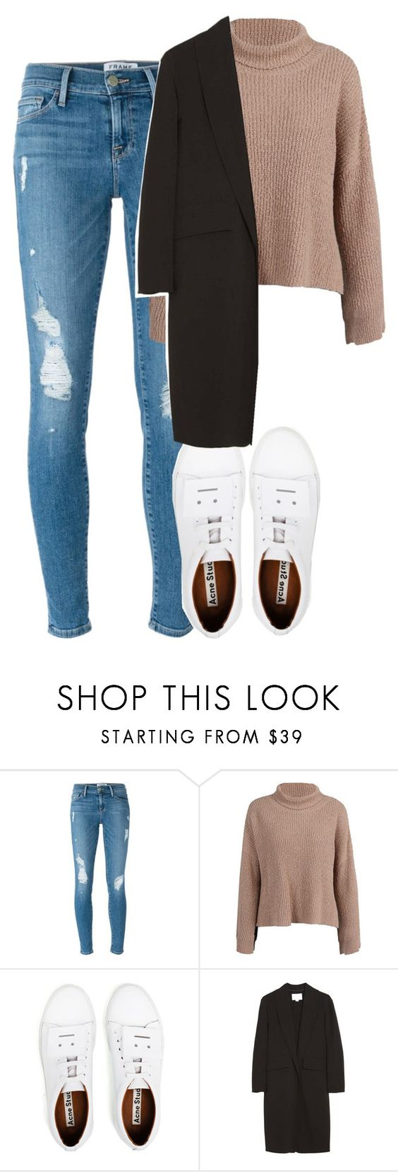 """Untitled #318"" by chandele ❤ liked on Polyvore featuring Frame Denim, Acne Studios and Alexander Wang"
