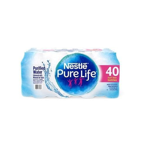 Coconut Water 179175 Nestle Pure Life Purified Water 16 9 Oz Bottles 40 Pk Free Shipping Buy It Now Only Nestle Pure Life Water Purifier Pure Products