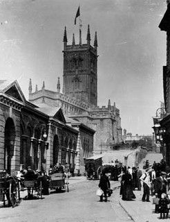 Market Hall, St. Peter's Square, Wolverhampton, Late 19th century, p/5301 by WAVE:Galleries, Museums, Archives of Wolverhampton, via Flickr