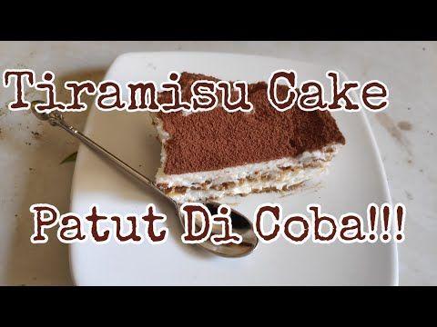 Resep Tiramisu Cake Mudah Dan Enak Youtube Kue Tiramisu Tiramisu Resep