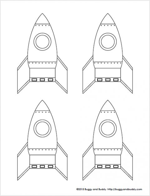 How to make straw rockets pinterest how to make straws and rockets for Rocket template printable