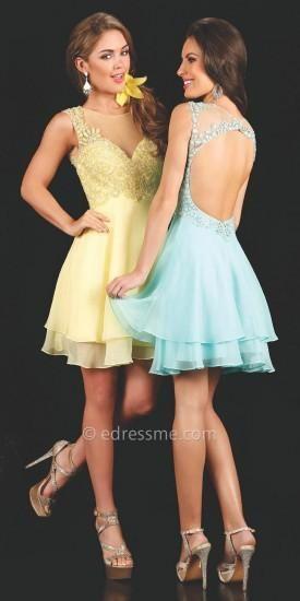Farah Jewelled Prom Dress by Mon Cheri Shorts  #dress #dresses #prom #promdress #moncheri #moncherishorts #designer #fashion #edressme