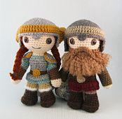 Ravelry: Dwarf Amigurumi pattern by Lucy Collin