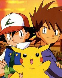 Ash Ketchum, Gary Oak and Pikachu | ASH is the best ...