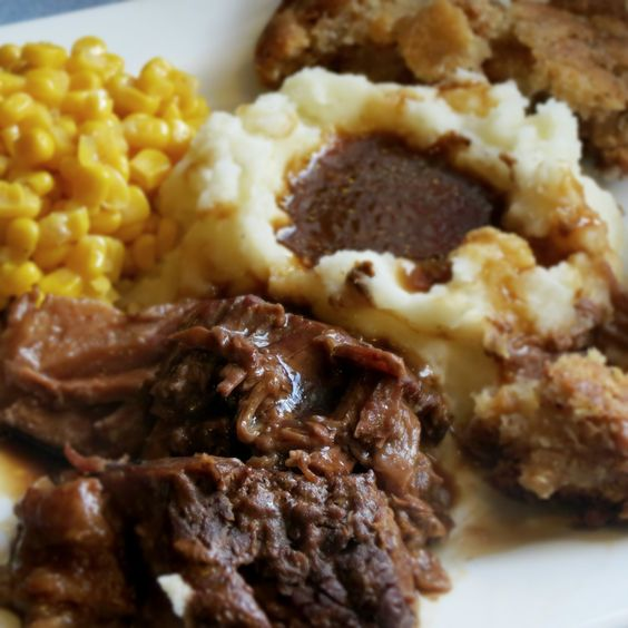 Slow Cooker London Broil and Gravy