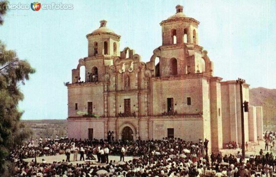 Templo de la Purisima Concepción en Caborca Son. Mx.