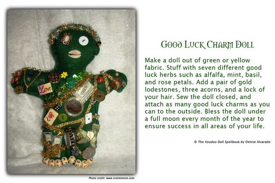Good Luck Charm #Voodoo Doll