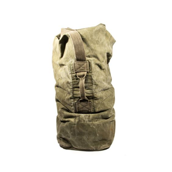 Extra Large Military Duffle Bag Army Bag Green Canvas We Like Accessories Pinterest