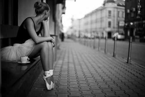I still want to be a ballerina when I grow up.
