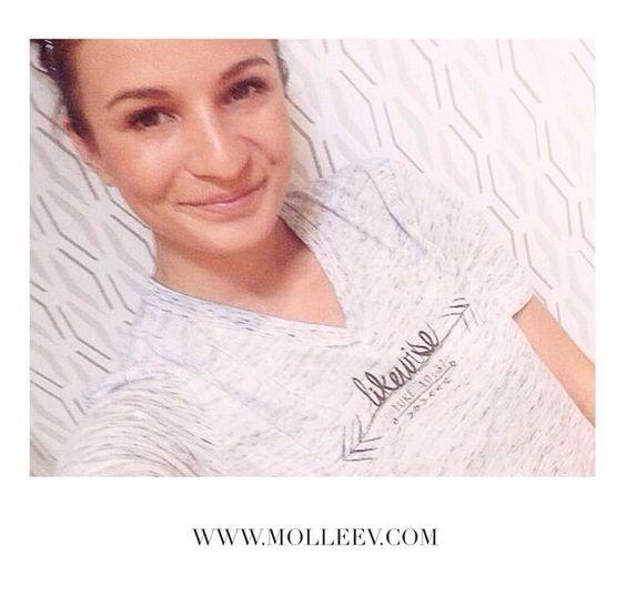 Sydney Rae James sporting her MolleeV #likewise tee! #molleev