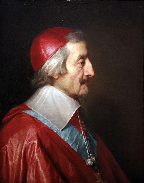 Филипп де Шампань. Портрет кардинала Ришельё