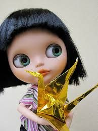 Dolls of the World: 1000 Cranes for Japan - Buscar con Google