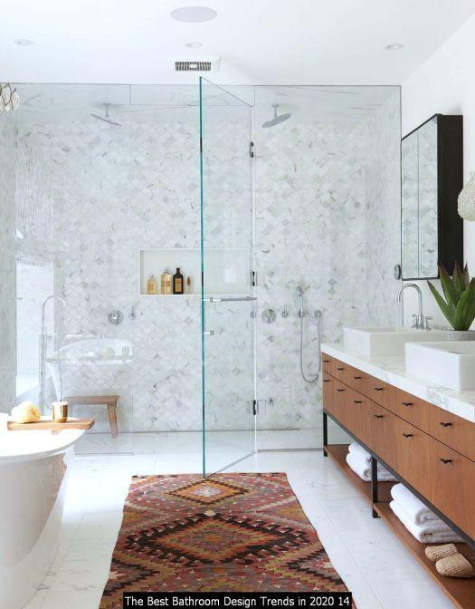 The Best Bathroom Design Trends In 2020 14 In 2020 Bathroom Trends Bathroom Design Diy Bathroom