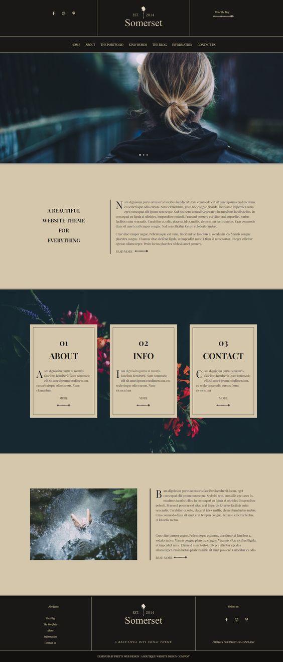 Diseno Grafico Wordpress Website Design Website Design Inspiration Web Layout Design
