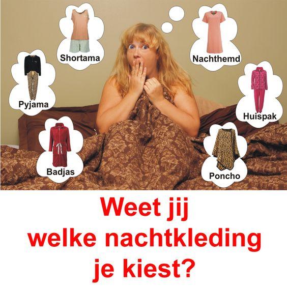 Weet jij welke nachtkleding je kiest bij Okeshop.nl