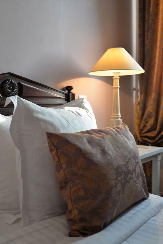 Une chambre de l'hôtel Cavendish à Cannes