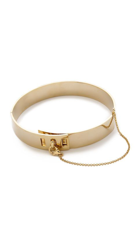 A gold choker instantly adds a dose of confidence to an outfit. Shop the 11 best statement pieces on the market, including this Eddie Borgo Safety Chain Choker here.