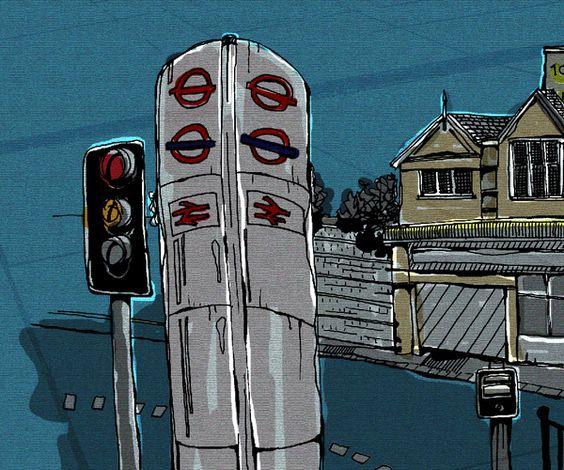 London Olympics 2012 / East I / ©Cherry Wynn-Williams, via Behance