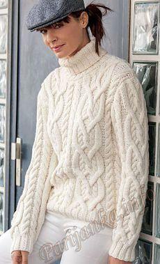 Пуловер 13 Tricot Creatif Phildar №4546