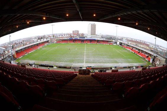 Gresty Road - Panoramic - Crewe Alexandra FC