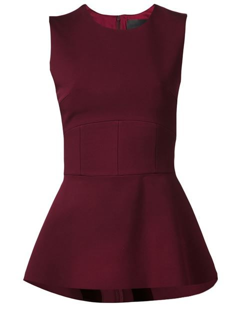 Shop Cushnie Et Ochs peplum blouse in Fivestory from the world's best independent boutiques at farfetch.com. Over 1000 designers from 300 boutiques in one website.