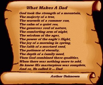 Fathers Day Poems 002