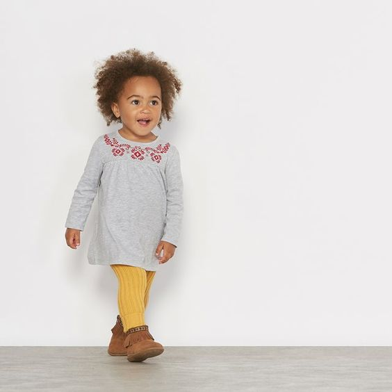 Ribbed Knit Leggings, 1 Month - 3 Years R édition | La Redoute Mobile
