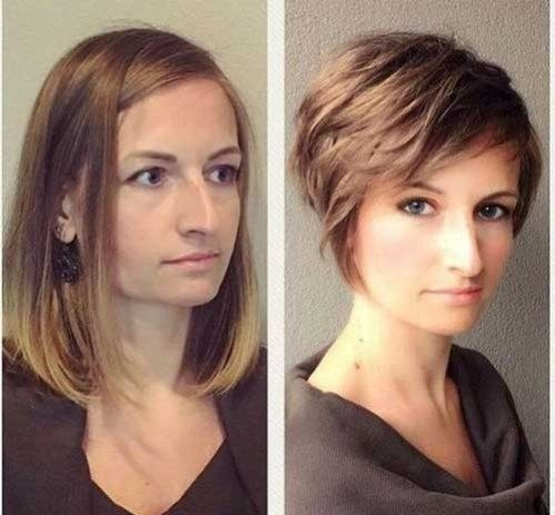 Awesome Hairstyle For Large Nose Best Short Haircuts You Will Want To Try Medianet Width 600 Median Kurzhaarschnitte Haarschnitt Kurz Haarschnitt