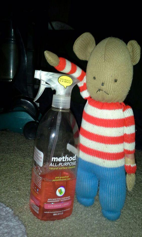 Method all purpose and model Stripey Bear
