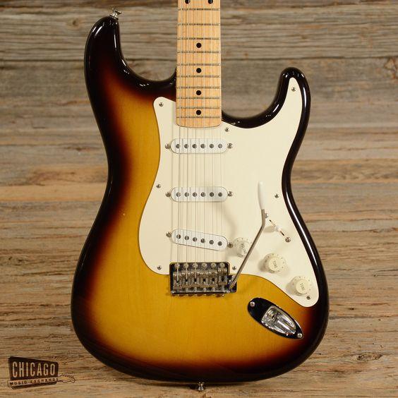Fender Custom Shop '56 Reissue Stratocaster Sunburst 1999 (s924)