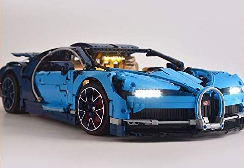 Brickled Led Light Kit For Technic Bugatti Chiron Model Lego 42083 Usb Power Lego Set No Included Led Light Kits How To Make Light Bugatti Chiron