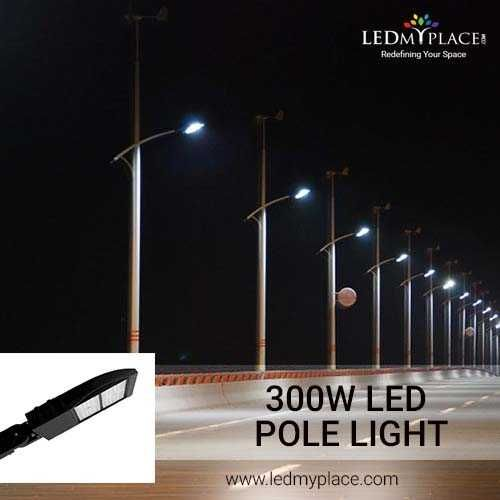 Buy 300w Led Pole Lights To Secure Your Outdoor Area Led Parking Lot Lights Lights Outdoor Lighting