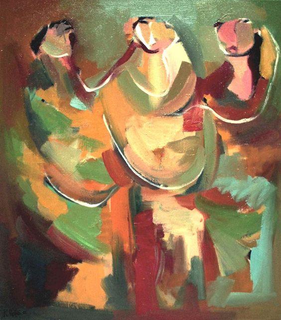 Kassim Al-Refai. Three Women