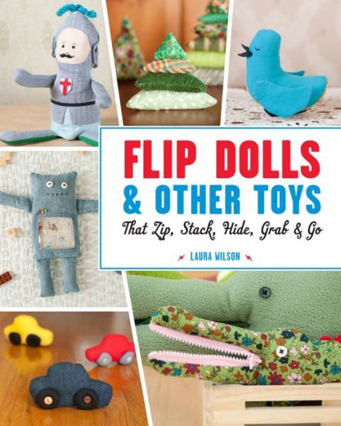 Giveaway: Flip Dolls & Other Toys book (ends 10/5)