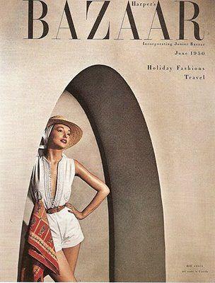 .: Magazine Covers, June 1950, Vintage Magazine, Harpers Bazaar, Bazaar Covers, Harpersbazaar