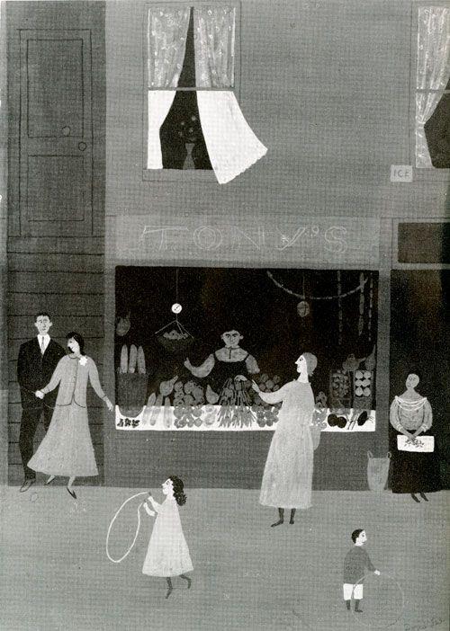 ·|· illustration for Seventeen magazine, Doris Lee, 1955