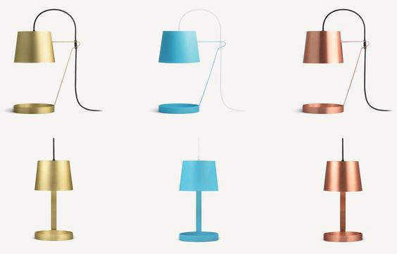 Light is an understated table lamp from Aplin Creative that creates atmospheric light and adds character to its environment.