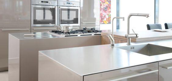 Keuken Werktafel Rvs : rvs keukens – Miele keukens Pinterest Search