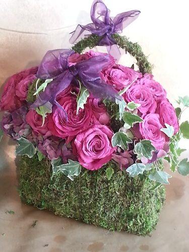 Barbra Streisand had us create this beautiful arrangement for the owner of Teleflora- Lynda Resnick.